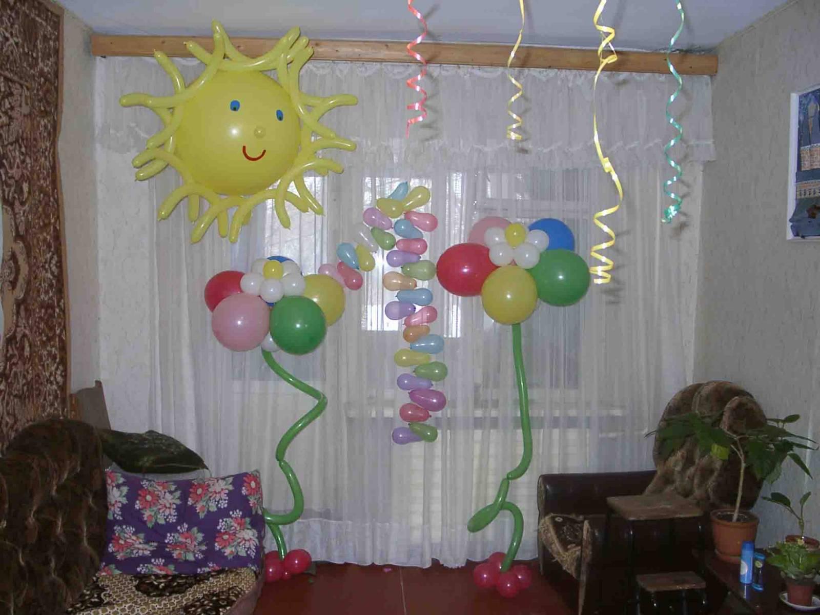 Украшаем комнату на день рождения ребенка своими руками. Фото 34